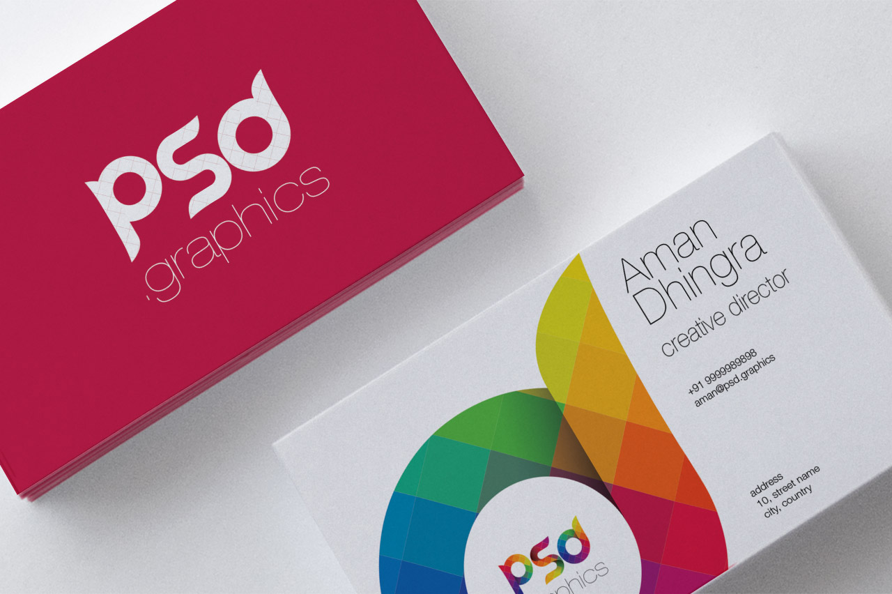 Creative Business Card Free PSD