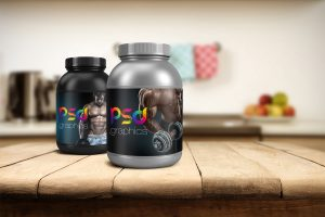 Protein-Jar-Mockup-Free-PSD-Graphics