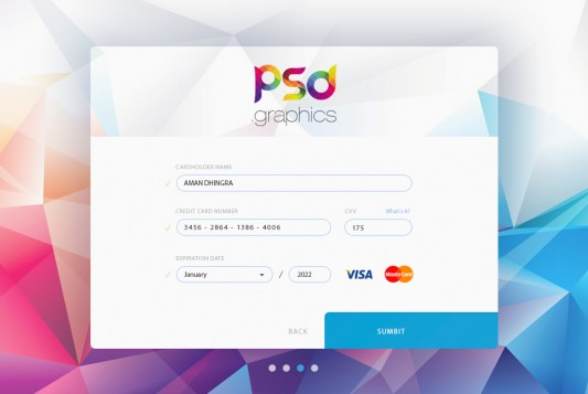 Credit Card Form UI Free PSD Graphics web interface visa ux ui psd ui elements ui shopping psdgraphics psd graphics psd payment pay online shopping money modern master card gui kit gui freebie free psd free form ui form field form ecommerce credit card credit colorful clean checkout card buy