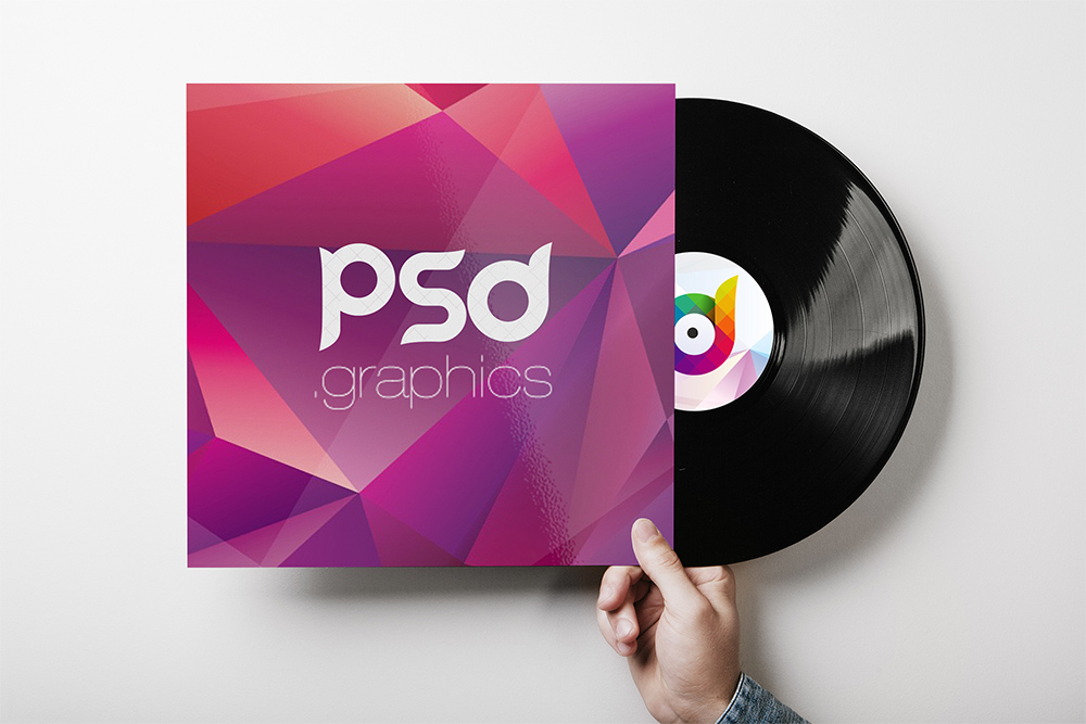 It is a picture of Sassy Free Vinyl Record Label Template