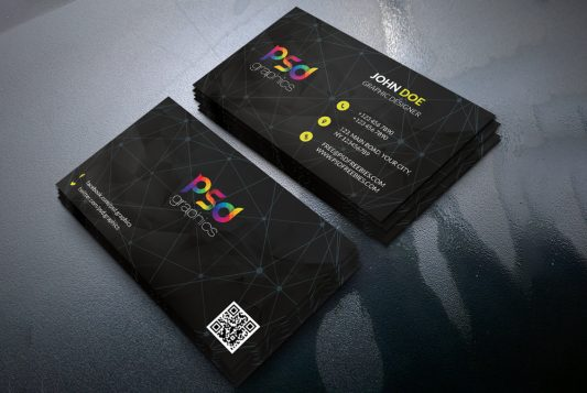 Black Business Card Template Free PSD template studio showcase rounder corner psdgraphics psd mockup psd graphics psd professional print templates print template print design print premium mockup psd mock-up graphics graphic designer freebie free psd free mockups free business card free designer design studio dark business card dark customizable creative corporate colorful clean business card template business card psd business card business black business card black agency