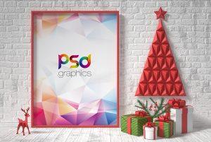 christmas-poster-flyer-mockup-psd