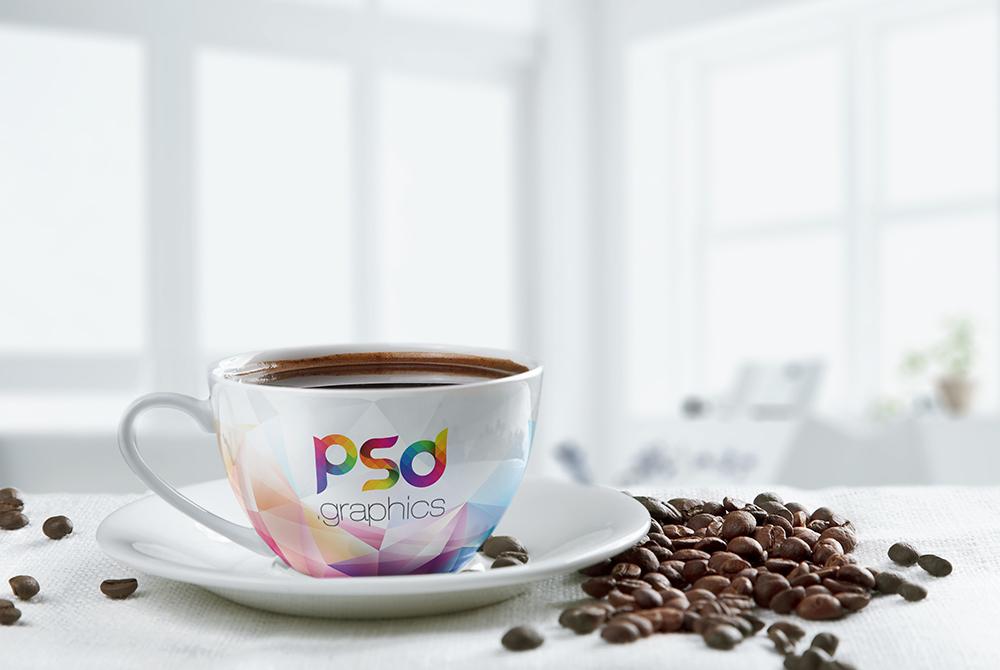 Coffee Cup Mockup Free PSD