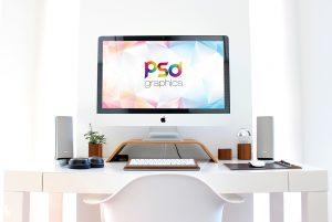 iMac-Workspace-Mockup-Free-PSD