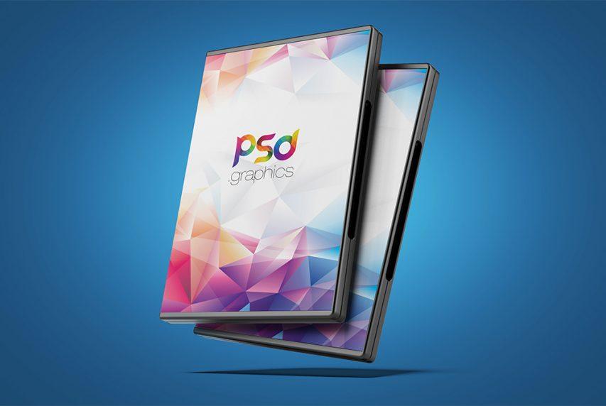 dvd box cover mockup free psd psd graphics