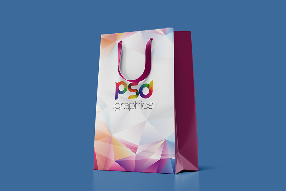 Paper Shopping Bag Mockup Free PSD   PSD Graphics