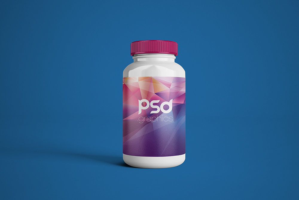Plastic Pill Bottle Mockup Free Psd Psd Graphics