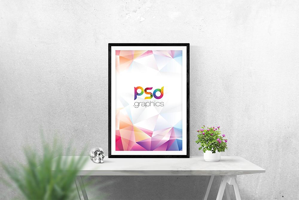 Photo Frame Mockup Free PSD | PSD Graphics