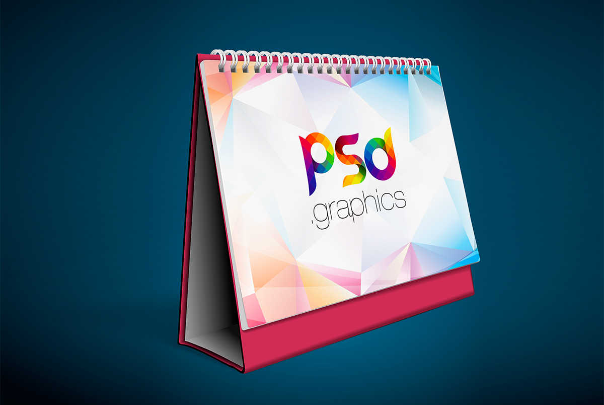 Table Calendar Mockup Free Psd Psd Graphics Download
