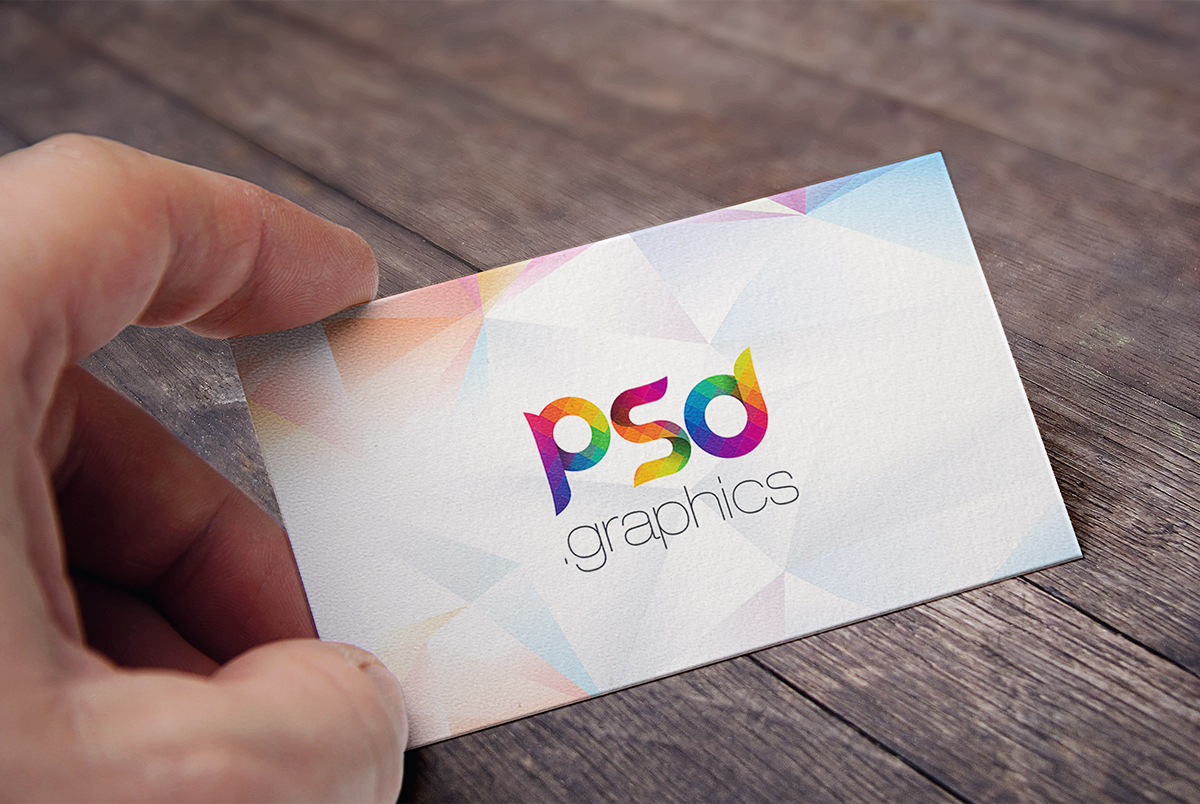 Free business card mockup template psd psd graphics cheaphphosting Choice Image