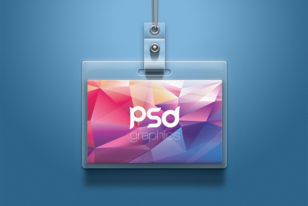 ID Card Mockup PSD