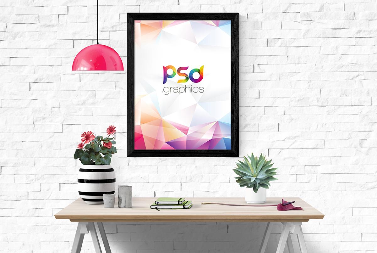 Poster Frame Mockup Template | PSD Graphics