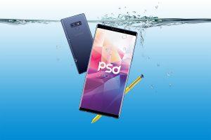 Samsung Galaxy Note 9 Mockup PSD