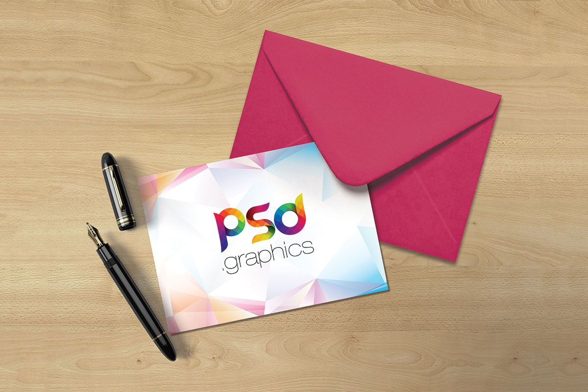 5x7 Postcard Mockup Template