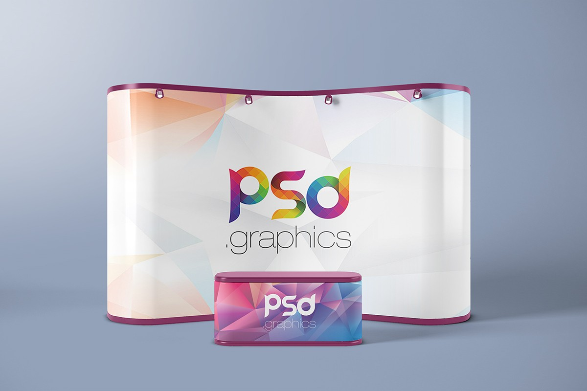 Trade Show Booth Branding Mockup