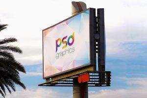 Huge Billboard Mockup PSD