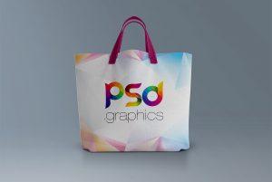 Canvas Tote Bag Mockup PSD