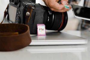 SD Memory Card Mockup Template