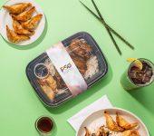 Plastic Food Box Packaging Mockup
