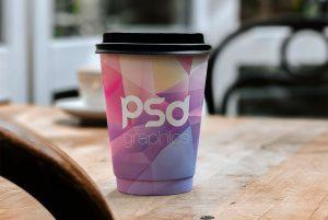 Paper Cup Branding Mockup