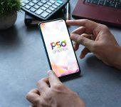 Free Smartphone Mockup Template